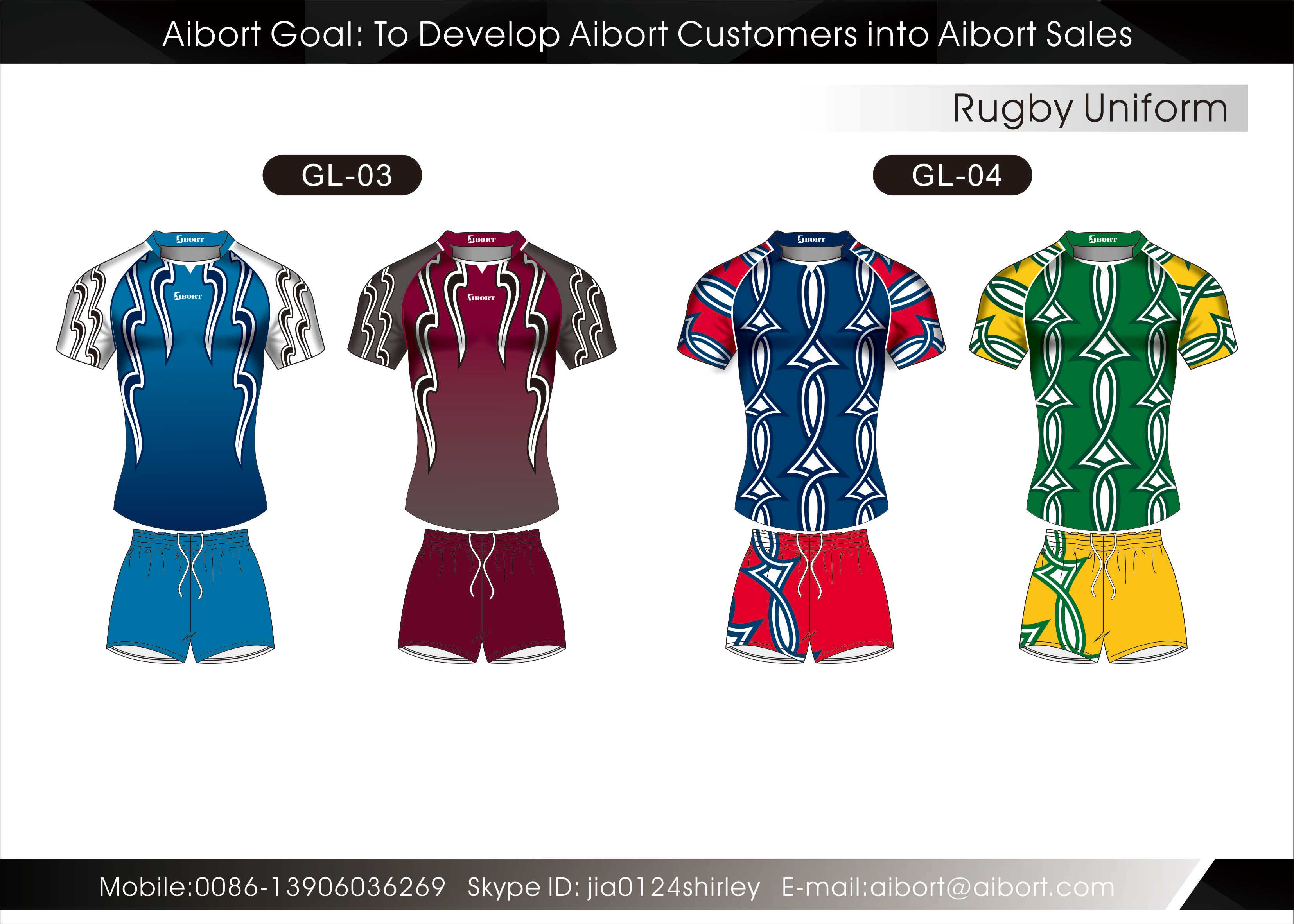 Custom Rugby Merchandise wholesale